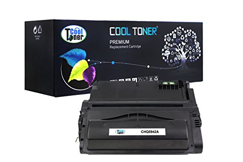 Cool Toner Compatible Toner Cartridge Replacement for Q5942A 42A Q1338A 38A (Black) Compatible with HP LaserJet 4240 4250 4350