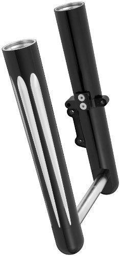 Arlen Ness 06-567 Black Hot Legs Fork Leg Set by Arlen Ness