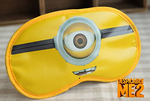 CJB Despicable Me Minions Eye Mask for Sleeping Travel Games (US -