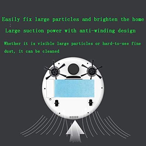 XJZKA Robot de Balayage Intelligent télécommandé, aspirateur Rechargeable Automatique de Navigation visuelle adapté au Nettoyage du Sol en Moquette en Poils d\'animaux