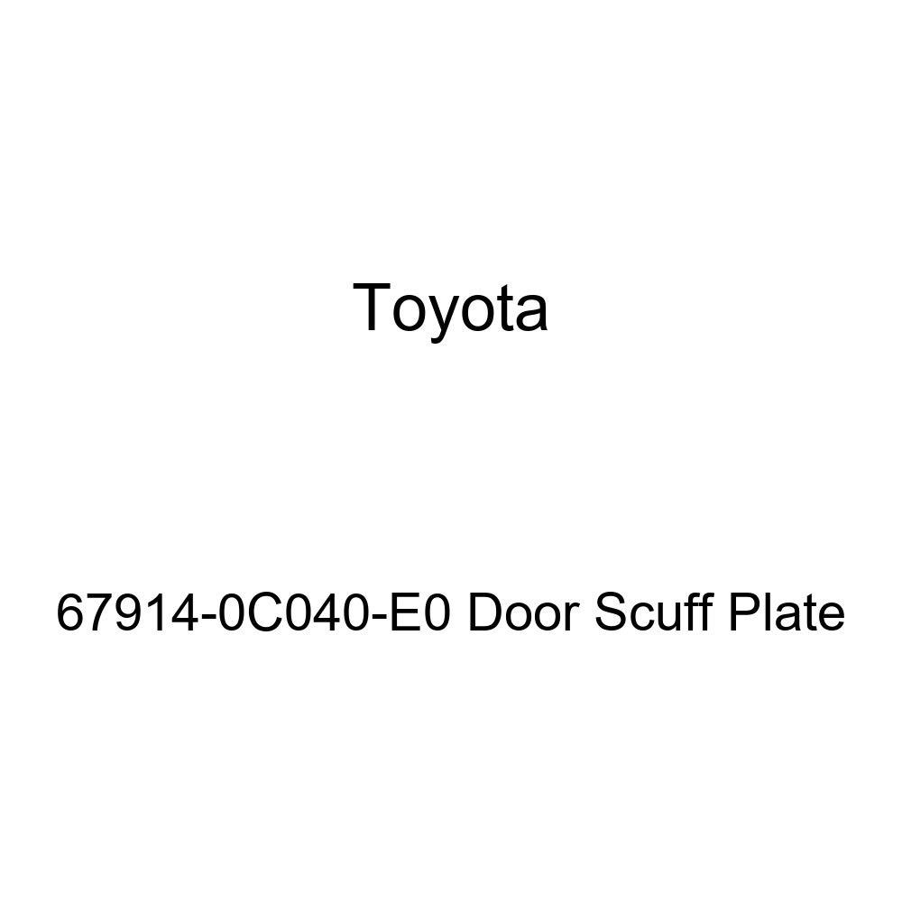 TOYOTA Genuine 67914-0C040-E0 Door Scuff Plate
