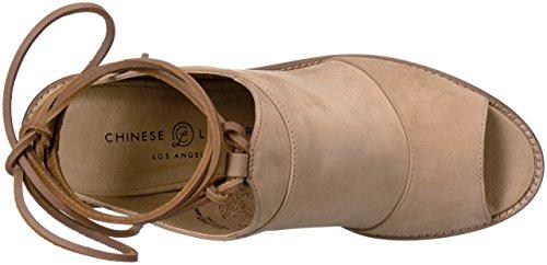 Cali Dress Chinese Leather Laundry Natural Women Sandal gEnxxpRwaq