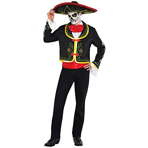 Amscan Day of the Dead Senor-Standard Boys (Day Of Dead Costume Party City)