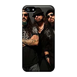 IanJoeyPatricia Iphone 5/5s Protector Hard Cell-phone Case Unique Design Attractive Papa Roach Pattern [PSX3270IXZG]