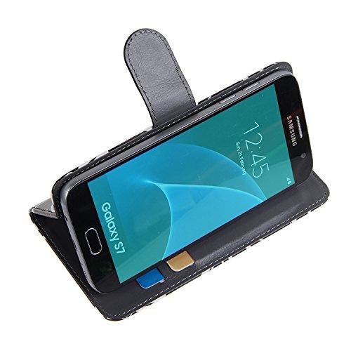 Huawei P20 Dual-SIM Cartera Funda Carcasa flores | 360° Wallet Case Protección innovadora de la cámara - K-S-Trade (TM)