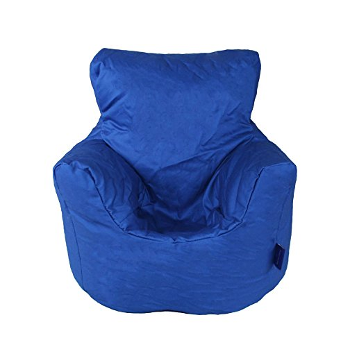 Childrens Bean Bag Chair In Two Sizes And Nine Colours 100 Cotton Twill Blue Small 50x50x50cm Buy Online In Grenada At Grenada Desertcart Com Productid 94165997