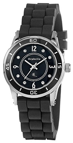 Orphelia OR22171244 - Women's Watch, Silicon, Black Color