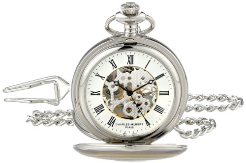 Charles-Hubert, Paris 3819 Two-Tone Mechanical Pocket Watch