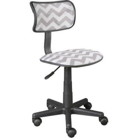 Urban Shop Swivel Mesh Task Chair (Grey Chevron) by Urban Shop