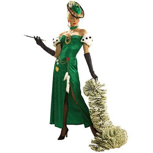 Rubie's Women's Lady Luck Costume, As Shown,