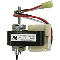 Supco SM554 2 Speed Range Hood Vent Motor Replaces 65105, VFM105, 33-105, C27987, 27987000, EM554