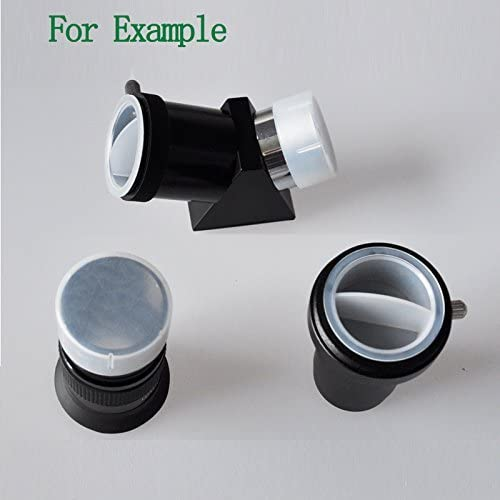 """Dust Caps for 1.25"""" Telescope Eyepieces Barlow Lens or Other Accessories - 5 Plug and 5 Cap a Set"""