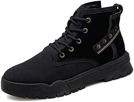 イギリス風 ハイカット 安全靴 作業ブーツ メンズ ムートンブーツ ファッション スノーブーツ ファー付き 防寒 おしゃれ 軽量 歩きやすい アウトドア 防水 シンプル 痛くない 短靴 ウインターブーツ 冬用