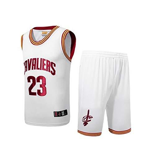 Jerseys de baloncesto for hombres Cavaliers James No. 23 Jerseys ...