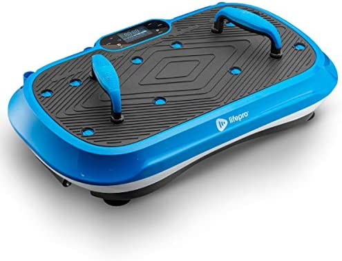 LifePro Waver Press Vibration Plate Exercise Machine | Vibrating Platform for Whole Body Fitness, Lymphatic Drainage, Weight Loss, Power Push Ups, Pressotherapy | Max User Weight 330 lb 1