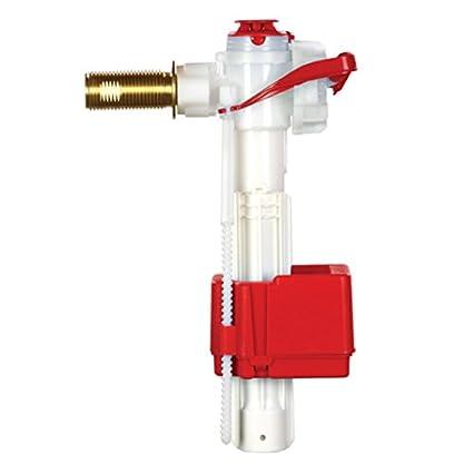 Fluidmaster Pro PRO75B - serie cola de latón con válvula de flotador lateral