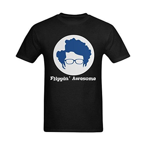 Definite Myself Men's Flippin' Awesome The IT Crowd Art Design T-Shirt - Style T-shirt US Size - T-shirt Crowd Guys