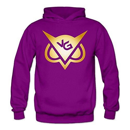 Youtube Golden Youtube VanossGaming Hoody Pullover Sweatshirt Women Shirt Purple - Snowboarding 3 Sims