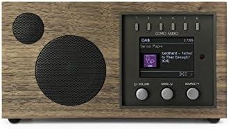 Como Audio: Solo – Wireless Music System with Internet Radio, Spotify Connect, Wi-Fi, FM, and Bluetooth – Walnut/Black