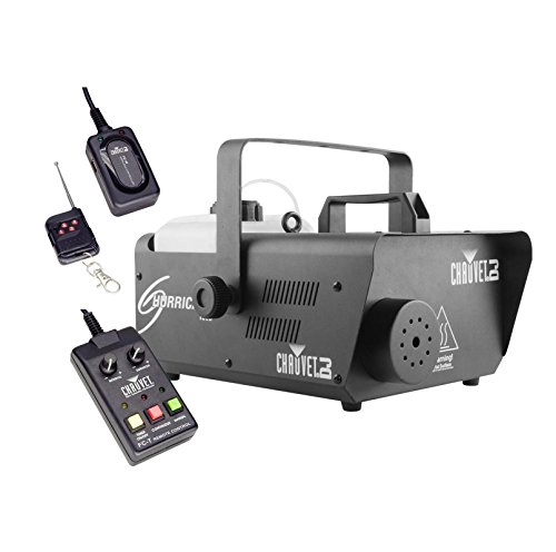 CHAUVET DJ Hurricane 1600 2.4L Pro Fog Machine w/Wired & Wireless Remote | H1600 by Chauvet