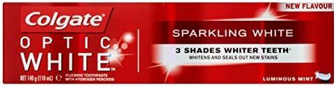 Colgate Optic White Sparkling Toothpaste - 140g