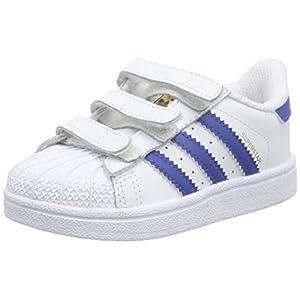 sports shoes 36bf4 06b28 adidas – Superstar Foundation CF, Scarpine Primi Passi Unisex – Bimbi 0-24