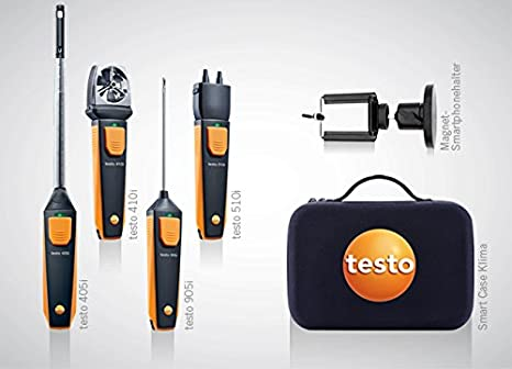 Strömungs druck temp set testo smart probes testo i