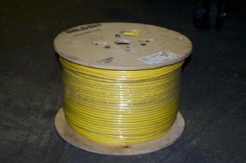Belden 1694A-1000-4, RG-6/U Type, 18 AWG, Sold in 1000' Spools, Yellow - Rg6/u Type