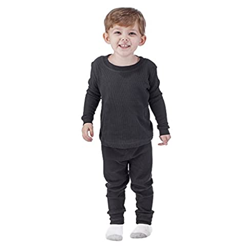 Arctic Pole Boys Thermal Underwear set 5/6 Black