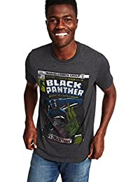 Marvel Comics Black Panther Graphic Tee for Men