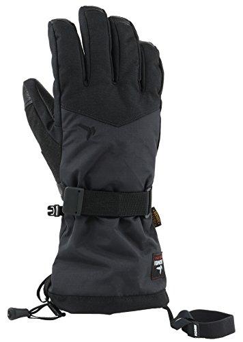 Kombi Insulated Gloves - Kombi Men's Ferrous Cold Weather Gloves, Large, Black