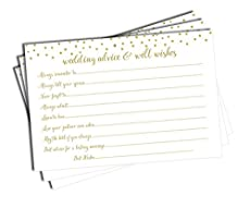 Heartfelt messages for the bride and groom to treasure for years to come. A fun bridal shower activity. Makes a wonderful wedding guest book alternative.