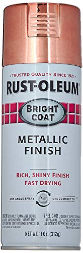 Rust-Oleum 331255 11 OZ Aerosol Rose Metallic Enamel
