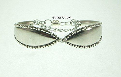 silverware-bracelet-vintage-vesta-pattern-silver-plate