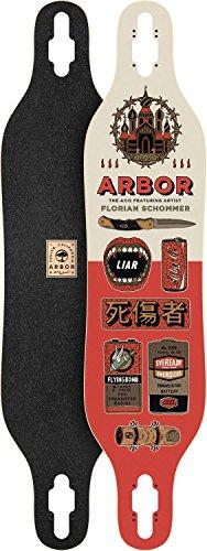 Arbor Axis 40 Artist Skateboard Deck, Nocturnal, 40