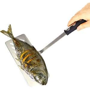 Stainless Steel Fish Shovel Steak Oil Fish Hot Dog Spatula Fried Shovel