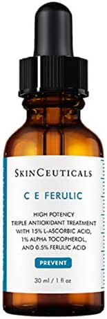 Skinceuticals C E Ferulic 1 Fluid Ounce - Anti-aging Vitamin C and E Serum Repairs and Protects Skin From Sun Damage