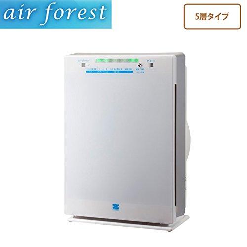 ■エアフォレスト空気清浄機 5層タイプ ZF-2100 花粉除去 強力脱臭 ホコリ ニオイ除去   B01BLZAA70