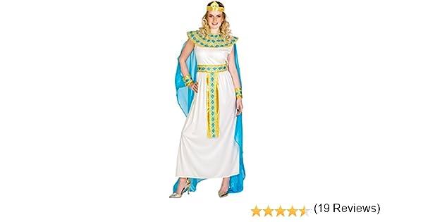 TecTake dressforfun Disfraz de Cleopatra para Mujer Reina Diosa | Vestido con Cinta de Pelo Muy Extravagante, Adorno de Cabeza Egipcio & Adorno para la muñeca (XL | no. 300197): Amazon.es: Juguetes