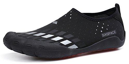 Turnschuhe Schwarz Laufschuhe für Damen Herren Weiß Outdoor Casual Sportschuhe Fitnessschuhe Schuhchan 1XqEzX