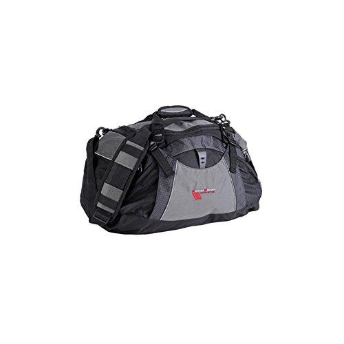 (Corvette Duffel Bag Vertex with Grand Sport Logo - Black/Grey : 2010-2013)
