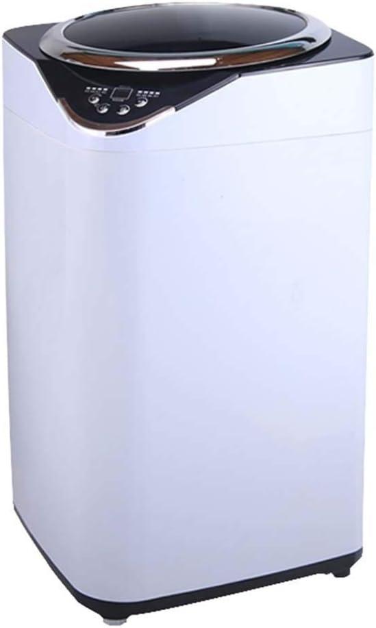 Lavadoras De Los Niños Automática Mini La Esterilización De Alta Temperatura Interior Secador De Hogar (Color : Blanco, Size : 46.4x46.4x82.5cm)