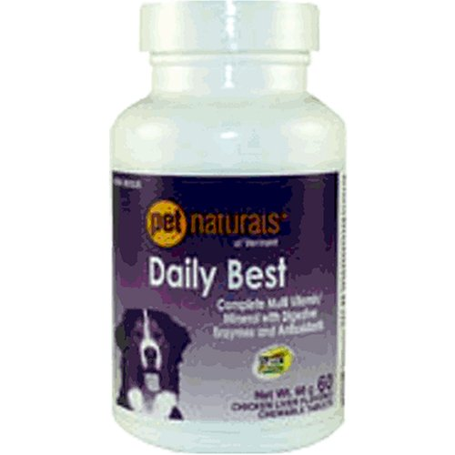 Daily Best for Dogs, 60 Tablets, Pet Naturals of Vermont
