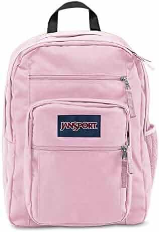 JanSport Big Student Backpack - Pink Mist - Oversized