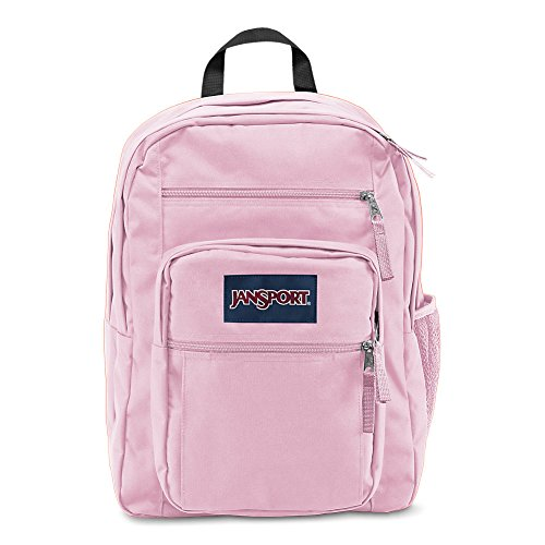 JanSport Big Student Backpack - Pink Mist - Oversized