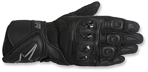 Price comparison product image Alpinestars SP Air Mens Motorcycle Gloves - Black / Gray - 2X-Large