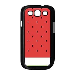 Samsung Galaxy S3 Case,Water Melon Hard Shell Back Case for Black Samsung Galaxy S3 Okaycosama447627