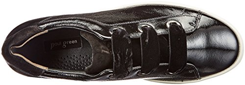 4539 Zapatos mujer Black de cordones Green Paul para 001 Schwarz 6qn775