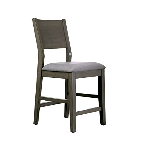 HOMES: Inside + Out IDF-3986PC Gray Dane Modern Counter-Height Chair (Set of 2) Review