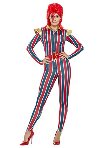 Smiffy's Women's Miss Space Superstar Costume, Multi, Medium -